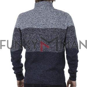 Πουλόβερ Πλεκτή Μπλούζα DUKE 800523 SAVANNAH 2 Γκρι
