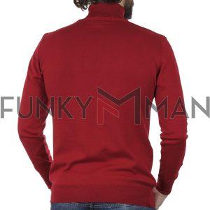Ζιβάγκο Πλεκτό Slim Fit ENDESON 115 Κόκκινο
