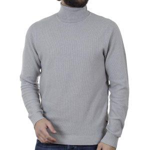 Ζιβάγκο Πλεκτή Μπλούζα SMART & CO 40-206-007 Γκρι