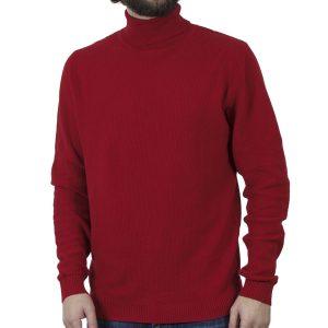 Ζιβάγκο Πλεκτή Μπλούζα SMART & CO 40-206-007 Κόκκινο