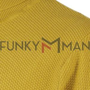 Ζιβάγκο Πλεκτή Μπλούζα SMART & CO 40-206-007 Κίτρινο