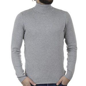Ζιβάγκο Πλεκτή Μπλούζα SMART & CO 40-206-010 Γκρι