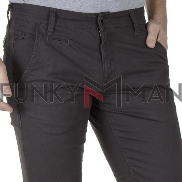 Chinos Παντελόνι COVER CHILLY 3373 FW19 Γκρι