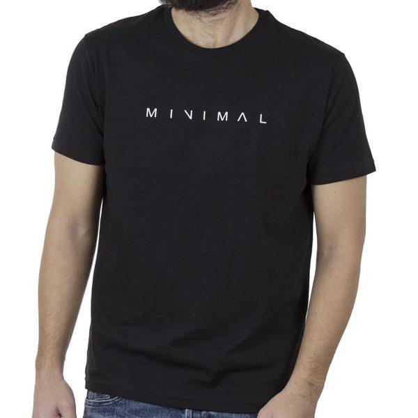 Κοντομάνικη Μπλούζα T-Shirt Cotton4all 20-900 Μαύρο