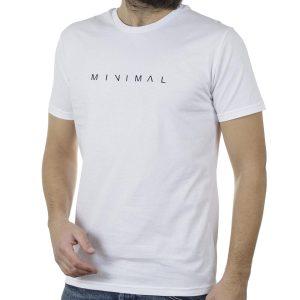 Κοντομάνικη Μπλούζα T-Shirt Cotton4all 20-900 Λευκό