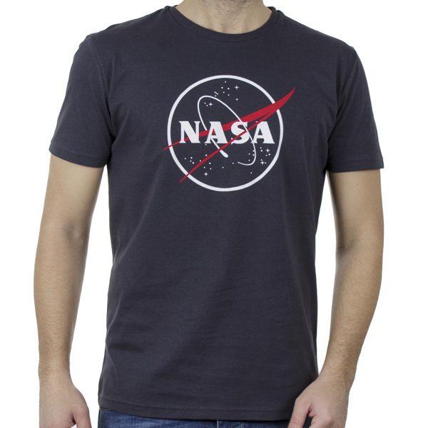 Κοντομάνικη Μπλούζα T-Shirt Cotton4all 20-908 Ανθρακί
