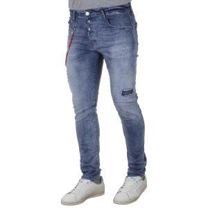 Τζιν Παντελόνι DAMAGED R34D SS20 Slim ανοιχτό Μπλε