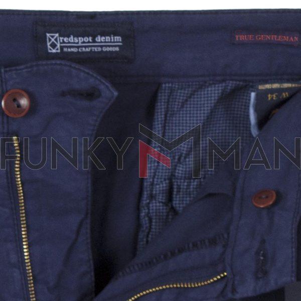 Βαμβακερό Παντελόνι Chinos Redspot Taylor SS20 Indigo