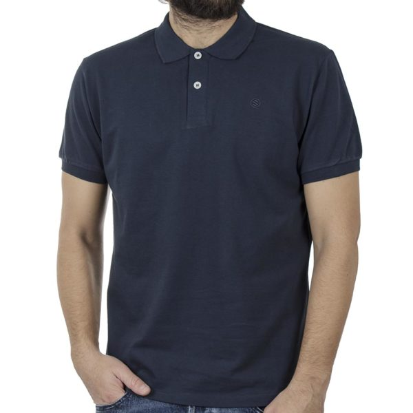 Κοντομάνικο Polo Shirt SNTA SSB-2-44 SS20 Navy