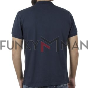 Κοντομάνικο Polo Shirt SNTA SSB-2-44 SS20 Navy