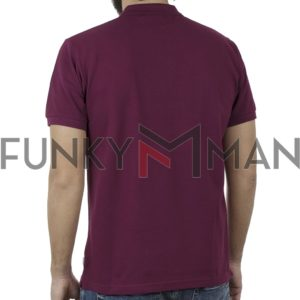 Κοντομάνικο Polo Shirt SNTA SSB-2-44 SS20 Μωβ