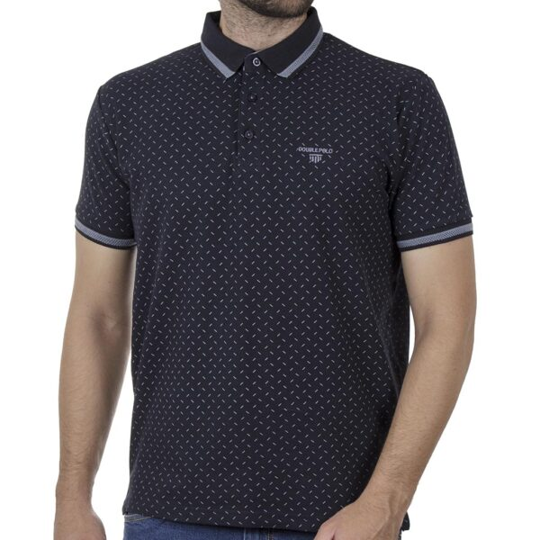 Πουά Κοντομάνικο Fashion Polo DOUBLE PS-239S SS20 Navy