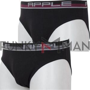 Σετ 2άδα Σλιπάκια Apple 0212951 SS20 Μαύρο