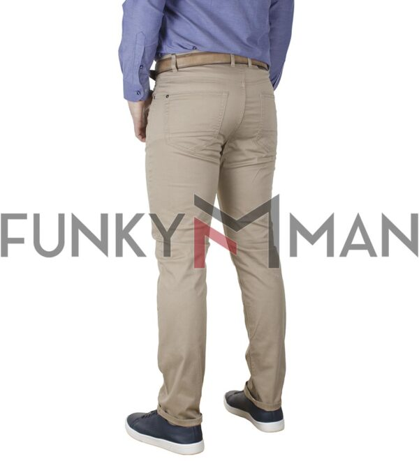 Πεντάτσεπο Casual Παντελόνι 5 Pockets DOUBLE FP-229 SS20 Beige
