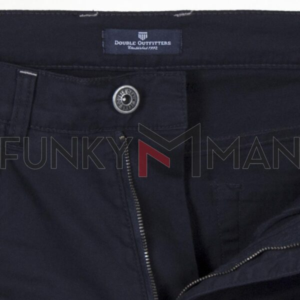 Πεντάτσεπο Casual Παντελόνι 5 Pockets DOUBLE FP-229 SS20 Navy