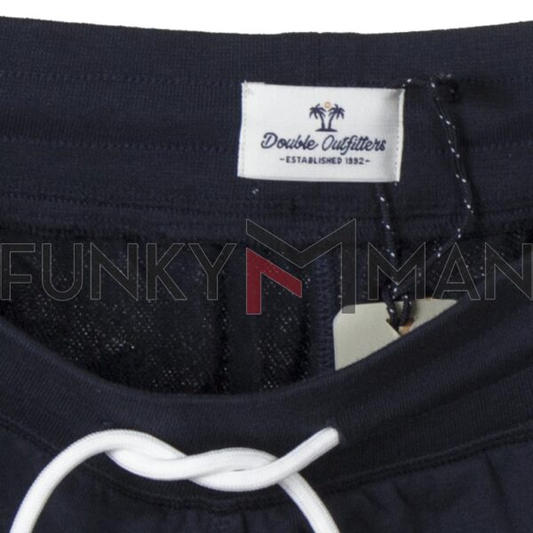 Μακό Βερμούδα Terry Fleese DOUBLE MS-18 SS20 Navy