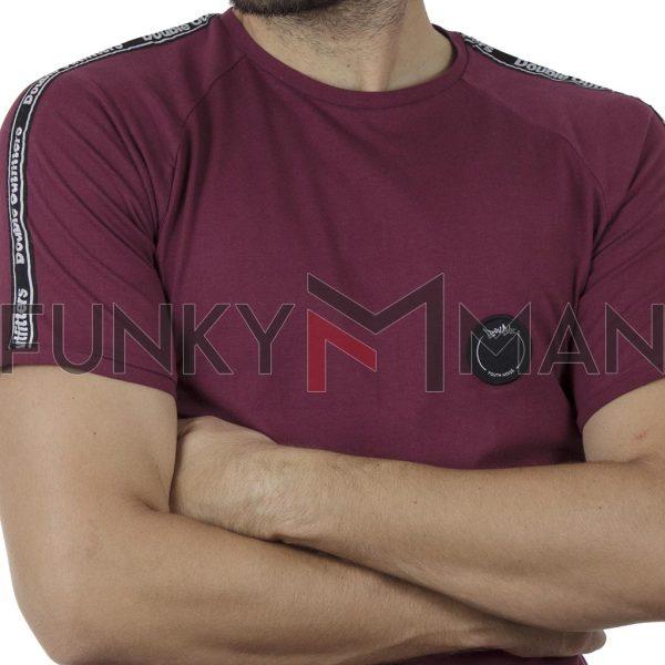 Κοντομάνικο Ρεγκλάν T-Shirt DOUBLE TS-127 SS20 Cherry