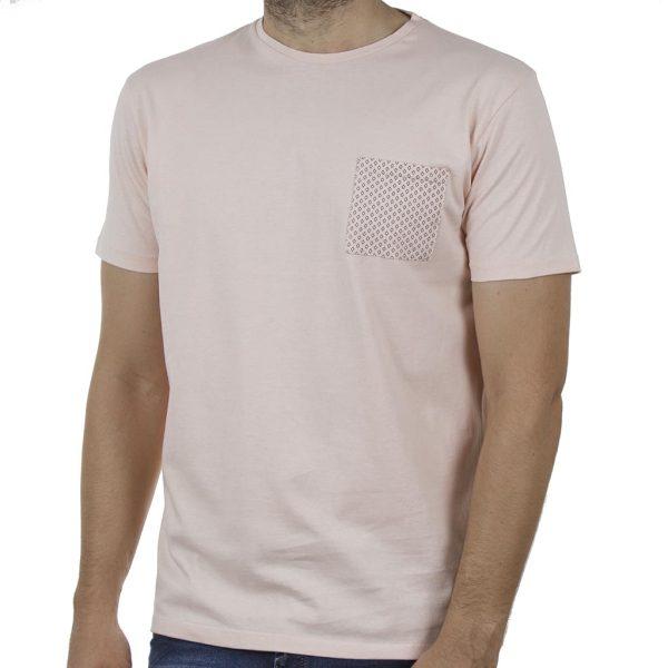 Κοντομάνικο T-Shirt DOUBLE TS-128 SS20
