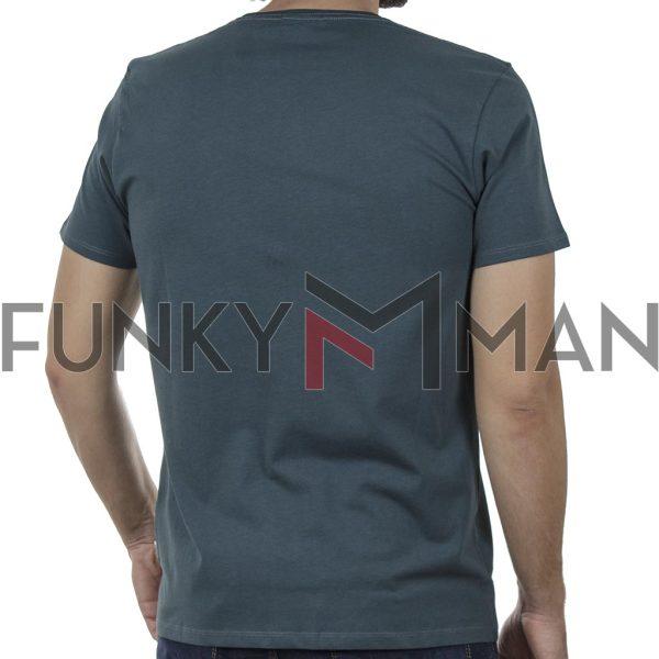 Κοντομάνικο T-Shirt DOUBLE TS-132 SS20 Pesto