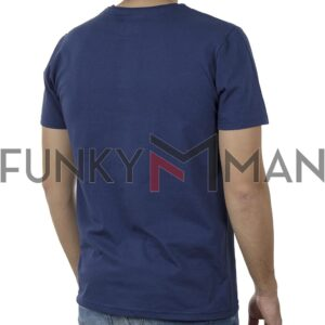 Κοντομάνικη Μπλούζα T-Shirt Cotton4all 20-903 SS20 Μπλε