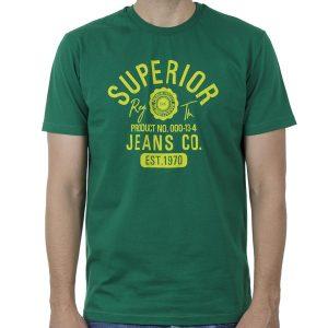 Κοντομάνικη Μπλούζα T-Shirt Cotton4all 20-903 SS20 Πράσινο