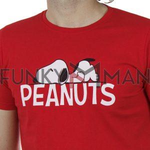 Κοντομάνικη Μπλούζα T-Shirt Cotton4all 20-909 SS20 Κόκκινο