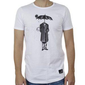 Κοντομάνικη Μπλούζα T-Shirt Cotton4all 20-917 SS20 Λευκό