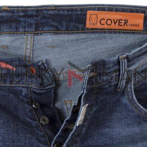 Τζιν Παντελόνι Carrot Fit COVER DATE B3544 SS20 Μπλε