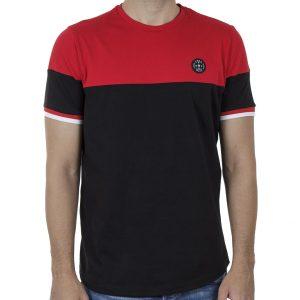 Κοντομάνικη Μπλούζα Fashion T-Shirt FREE WAVE 91111 SS20 Μαύρο