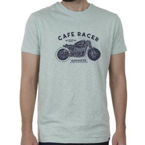 Κοντομάνικη Μπλούζα T-Shirt Garage55 GAM00122904 SS20 Ανοιχτό Πράσινο