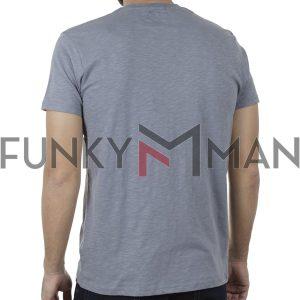 Κοντομάνικη Μπλούζα T-Shirt Garage55 GAM00123004 SS20 Ανοιχτό Μπλε