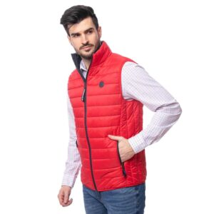 Αμάνικο Μπουφάν Puffer Jacket HEAVY TOOLS WITTY20 SS20 Κόκκινο