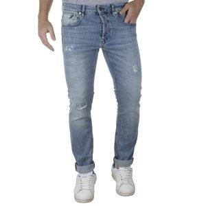 Τζιν Παντελόνι Slim Fit REDSPOT BONO S SS20 Ανοιχτό Μπλε