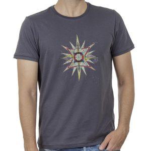 Κοντομάνικη Μπλούζα T-Shirt SCINN ST108 SS20 Ανθρακί