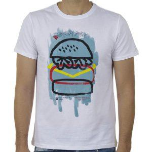 Κοντομάνικη Μπλούζα T-Shirt SCINN ST109 SS20 Λευκό