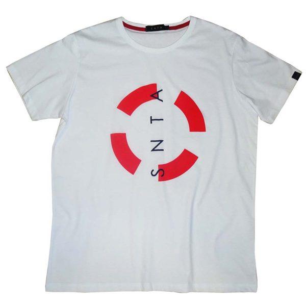 Κοντομάνικη Μπλούζα T-Shirt BigMan BM-511 SS20 Λευκό