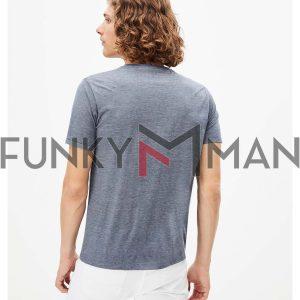 Κοντομάνικη Μπλούζα T-Shirt Celio REXSUD SS20 Stone Blue