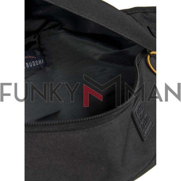 Τσαντάκι Μέσης FUNKY BUDDHA FBM00100510 Μαύρο