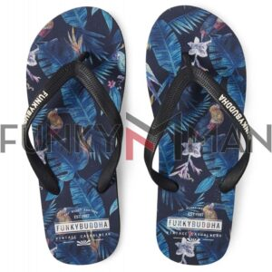 Σαγιονάρες FLIP FLOPS FUNKY BUDDHA FBM00105608 Μπλε