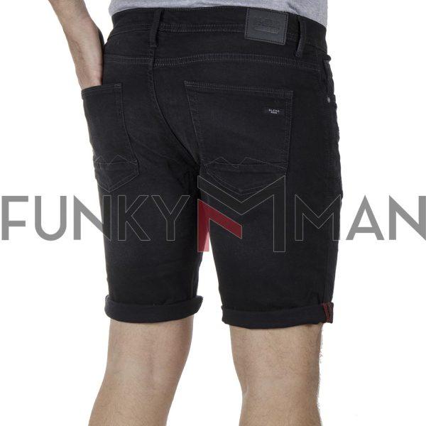 Τζιν Βερμούδα Denim Shorts BLEND 20709710 SS20 Μαύρο