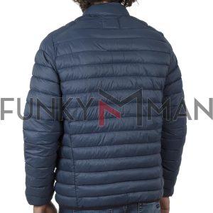 Φουσκωτό Μπουφάν Puffer Jacket BLEND 20709715 SS20 Petrol