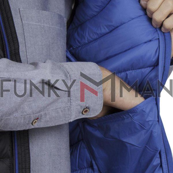 Αμάνικο Μπουφάν-Γιλέκο Puffer Jacket BLEND 20709716 SS20 Μαύρο