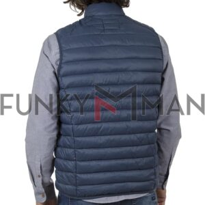 Αμάνικο Μπουφάν-Γιλέκο Puffer Jacket BLEND 20709716 SS20 Petrol