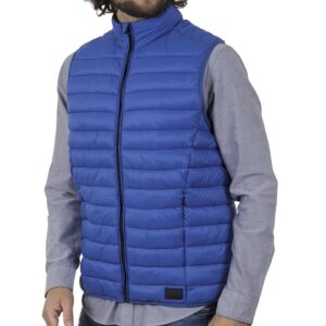 Αμάνικο Μπουφάν-Γιλέκο Puffer Jacket BLEND 20709716 SS20 Ρουά Μπλε