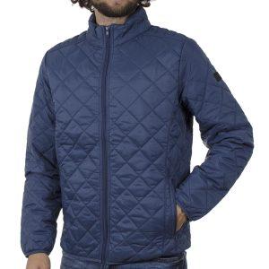 Φουσκωτό Μπουφάν Puffer Jacket BLEND 20709717 SS20 Indigo