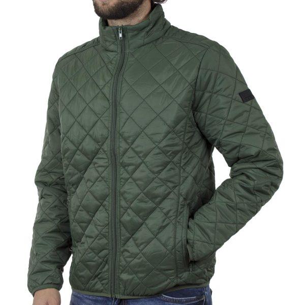 Φουσκωτό Μπουφάν Puffer Jacket BLEND 20709717 SS20 Χακί