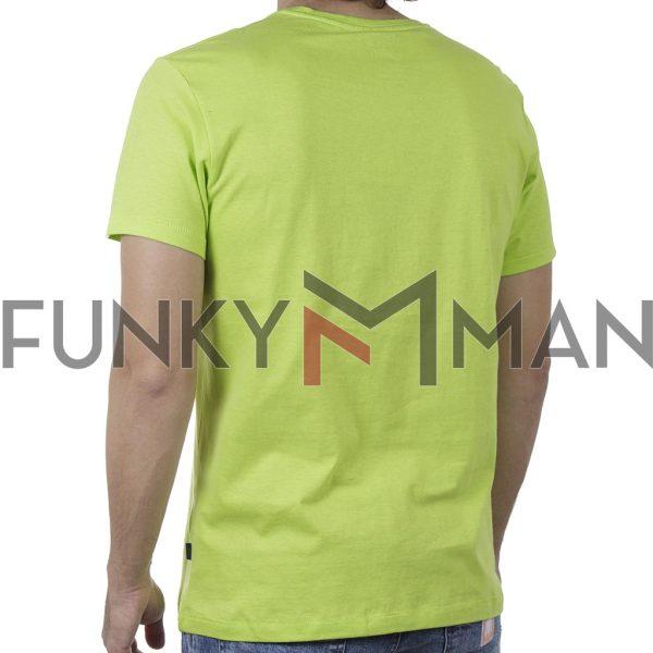 Κοντομάνικη Μπλούζα T-Shirt BLEND 20709758 SS20 Ανοιχτό Πράσινο