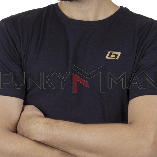 Κοντομάνικη Μπλούζα T-Shirt BLEND 20709760 SS20 Blueblack
