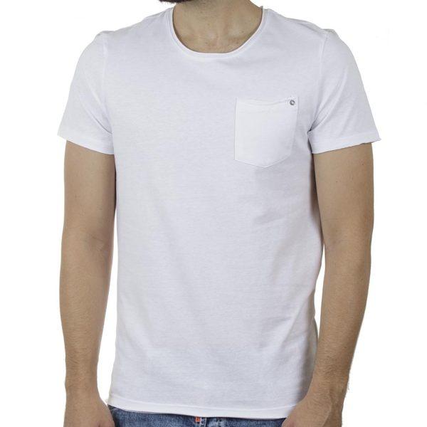 Κοντομάνικη Μπλούζα T-Shirt BLEND 20709766 SS20 Λευκό