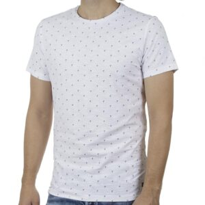 Κοντομάνικη Μπλούζα All Over Print T-Shirt BLEND 20709774 SS20 Λευκό